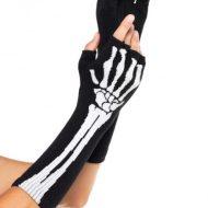 Manchettes ajourees noires leg avenue leg avenue taille unique gants et mitaines noir