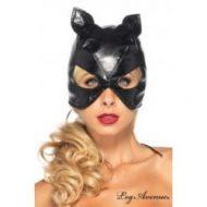 Masque de chat leg avenue noir chapeaux