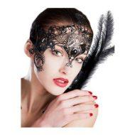 Masque luxe de front avec swarovski