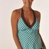 Maternity tankini swimwear