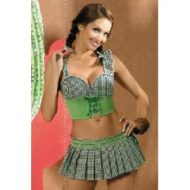 Mexicana costume obsessive vert far west