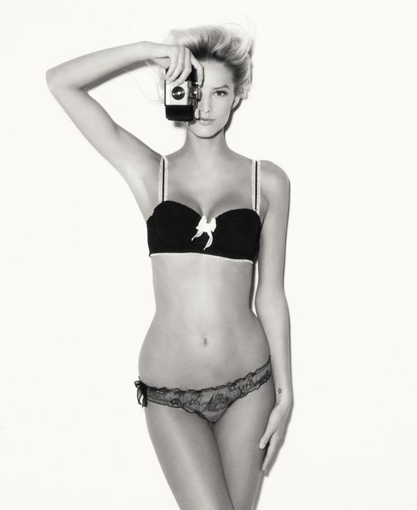Michaela Kocianova lingerie