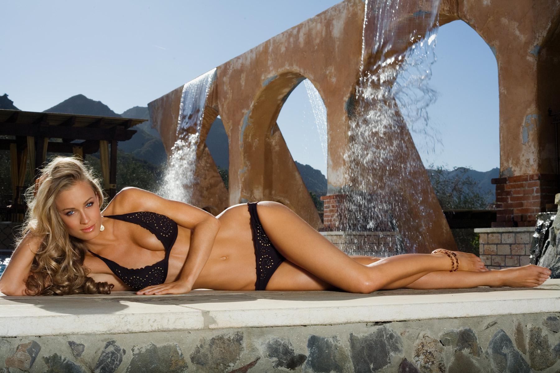 Michele Merkin bikini