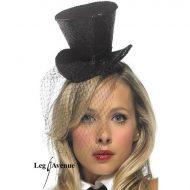 Mini chapeau haut de forme leg avenue fuschia chapeaux
