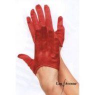 Mini gants leg avenue rouge gants et mitaines