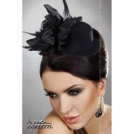 Mini top hat modele 22 livco noir chapeaux