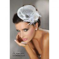Mini top hat modele 30 livco taille unique chapeaux blanc