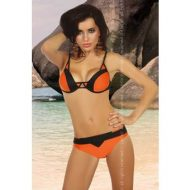 Minori livco large maillots de bainbikini orange