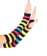 Mitaines arc en ciel leg avenue multicolore gants et mitaines