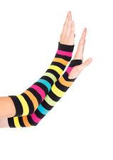 mitaines arc en ciel leg avenue multicolore gants et mitaines