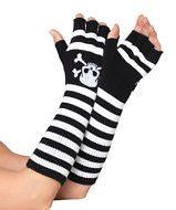Mitaines bend over leg avenue leg avenue taille unique gants et mitaines noir