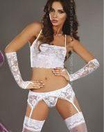 Modesta ensemble floral livco corsetti livco lxl ensembles 2 et 3 pieces blanc