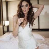 Nicole Trunfio lingerie