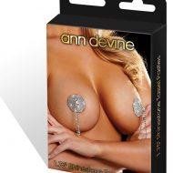 Bout de seins avec pendentifs bijou faux strass