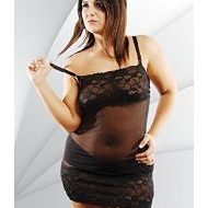 Nuisette sexy grande taille lunea