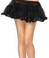 Panty jupon leg avenue ml burlesque noir