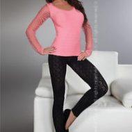 Paulette legging livco corsetti livco lxl pantalons leggings noir