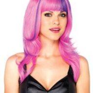 Perruque chat cosmique leg avenue leg avenue taille unique perruques rose