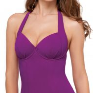 Purple tankini