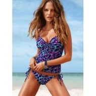 Push up tankini