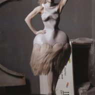 Raquel Zimmermann lingerie