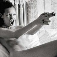 Rie Rasmussen lingerie