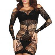 Robe ava livco sl robes lingerie courtes noir