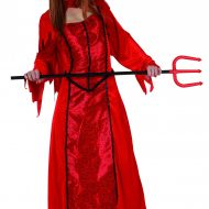 Robe brillante diablesse