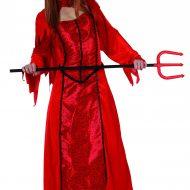 Robe brillante diablesse
