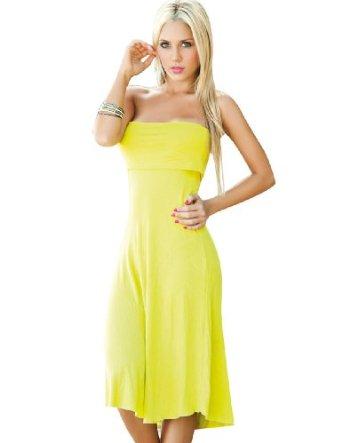 robe bustier convertible en jupe longue