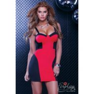 Robe courte chania forplay forplay large robes courtes rouge