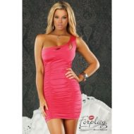 Robe courte ferrara a volants forplay forplay large robes courtes corail