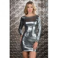Robe courte glitz forplay forplay large robes courtes or