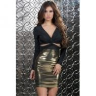 Robe courte radiance forplay forplay large robes courtes or