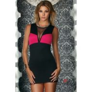 Robe courte ravenna bicolore forplay forplay large robes courtes noir