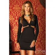 Robe courte shine forplay forplay large robes courtes or