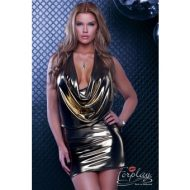 Robe courte tirreni forplay forplay large robes courtes or