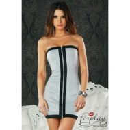 Robe courte tube marsala forplay forplay large robes courtes gris