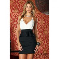 Robe decollete triangle forplay or robes courtes