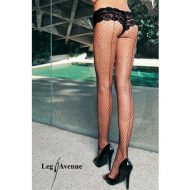Robe lingerie geo ajouree leg avenue noir robes lingerie courtes