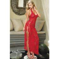 Robe lingerie latino leg avenue rouge noire robes lingerie longues