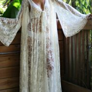 Robe lingerie longue