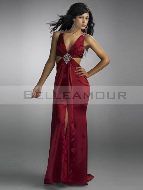 robe longue de soirée dos sexy