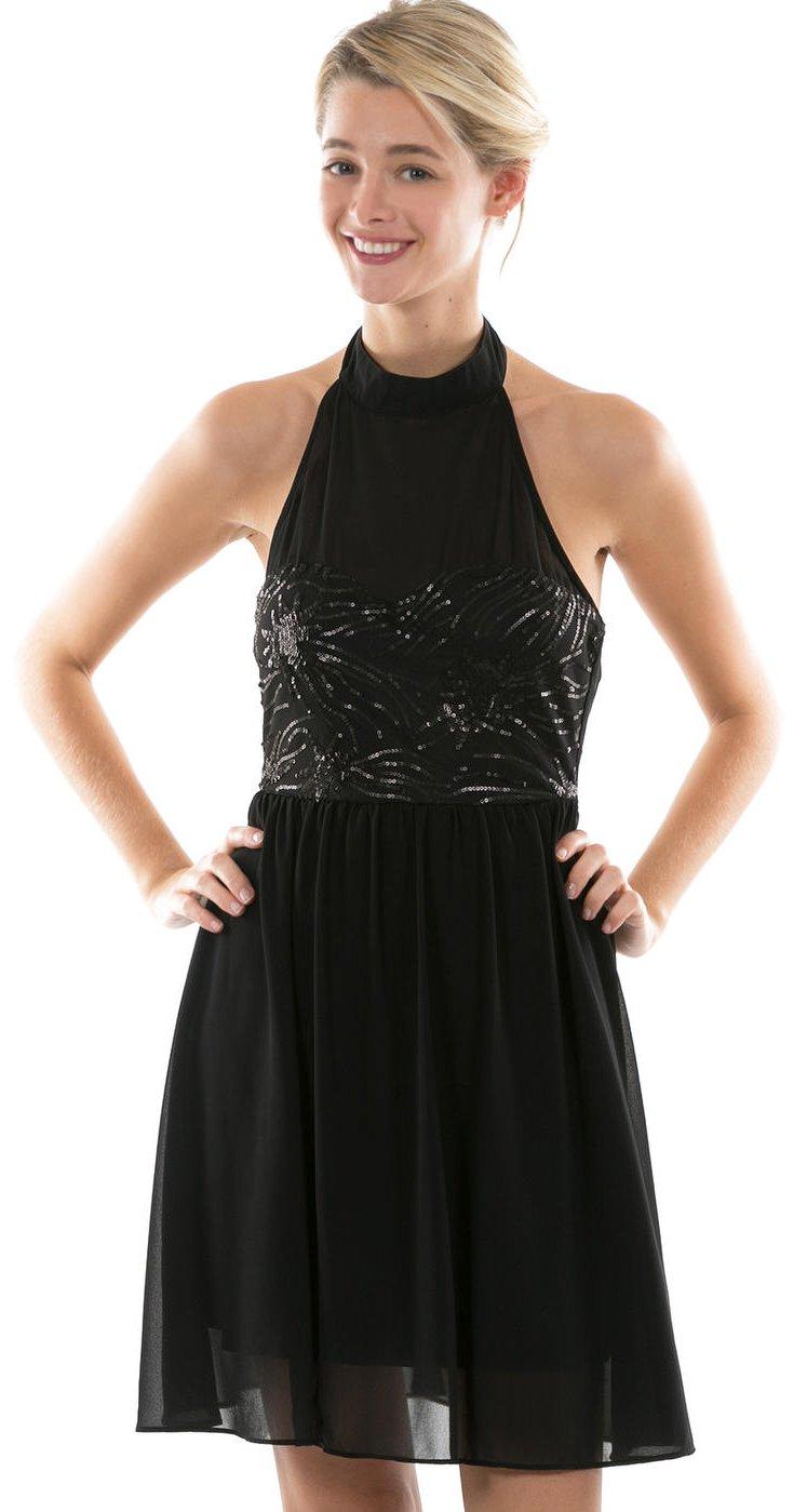 robe resille franges sm noir