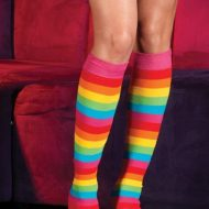 Robe resille multicolore leg avenue leg avenue taille unique robes lingerie courtes multicolore