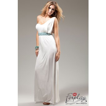 robe style cleopatre forplay blanc robes longues