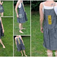 Robe tablier