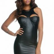 Robe tristan forplay forplay large robes courtes noir