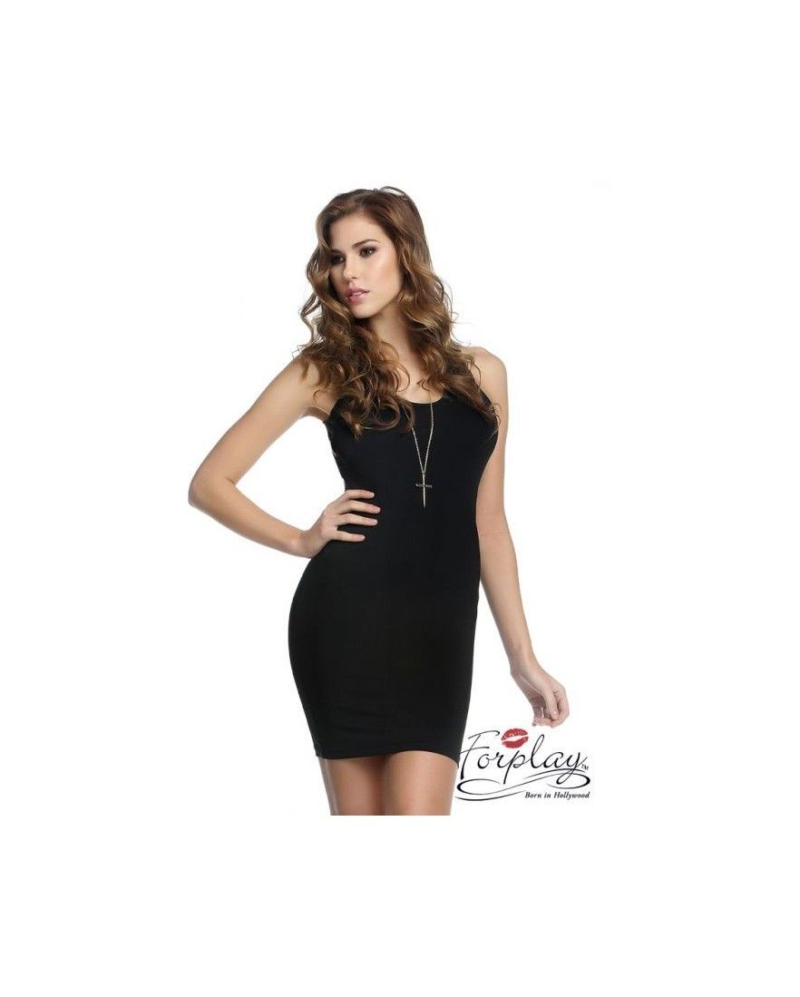 robe tyler forplay forplay large robes courtes noir