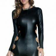 Robe wednesday forplay forplay large robes courtes noir